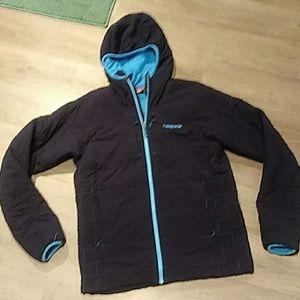 Men's PATAGONIA dark blue soft shell Jacket MEDIUM